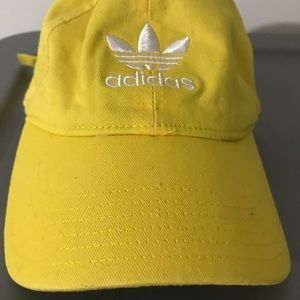 Adidas Men Adjustable Yellow Hat
